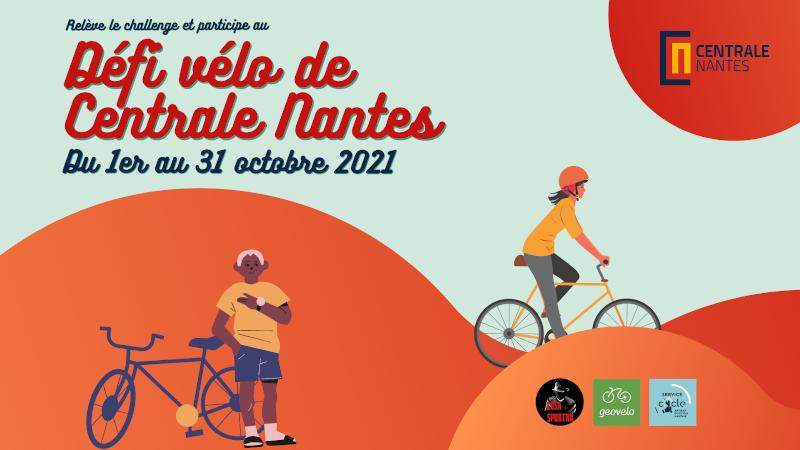 Défi vélo de Centrale Nantes