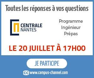 Campus Channel le 20 juillet 17h