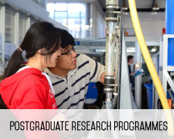 Postgraduate research programmes