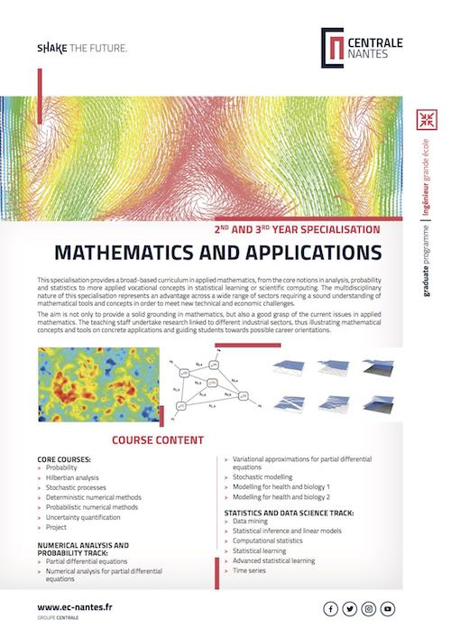 Mathematics and Applications - Centrale Nantes